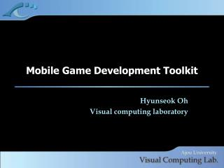 Mobile Game Development Toolkit