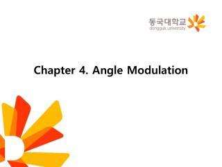 Chapter 4. Angle Modulation