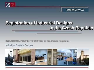 Registration of Industrial Designs  in the Czech Republic