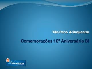 Tito Paris  & Orquestra