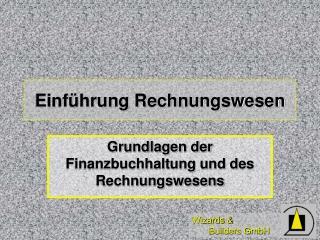 Einf hrung Rechnungswesen