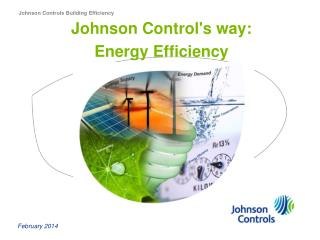 Johnson Controls Building Efficiency