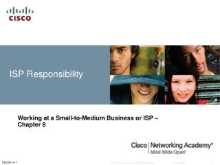 ISP Responsibility