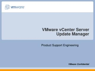 VMware vCenter Server  Update Manager