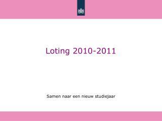 Loting 2010-2011