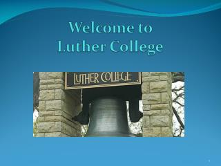 Welcome to  Luther College
