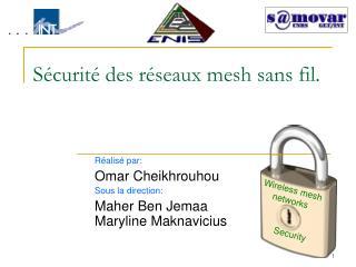 Sécurité des réseaux mesh sans fil.