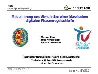 Modellierung und Simulation einer klassischen  digitalen Phasenregelschleife