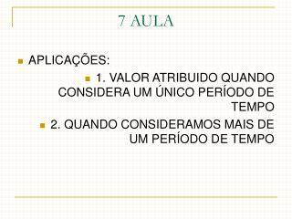 7 AULA