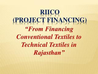 RIICO (Project  FinancING )