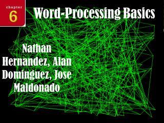 Word-Processing Basics