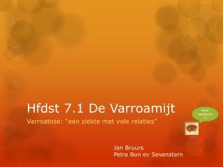 Hfdst 7.1 De Varroamijt