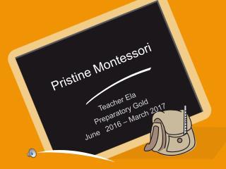 Pristine Montessori