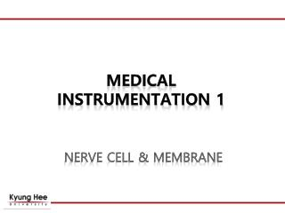 MEDICAL  INSTRUMENTATION 1
