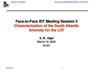 March 19, 2002 SLAC