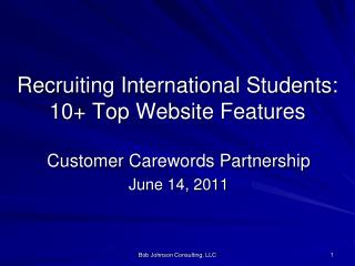 Recruiting International Students: 10+ Top Website Features