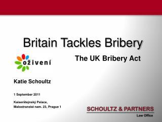 Britain Tackles Bribery