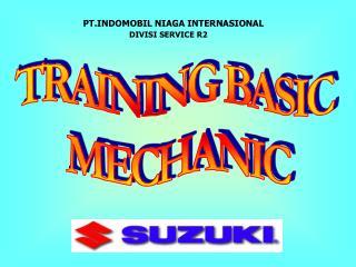 TRAINING BASIC  MECHANIC