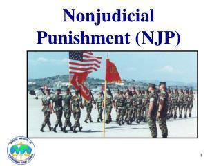Nonjudicial Punishment (NJP)
