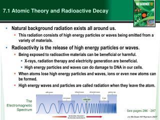 7.1  Atomic Theory and Radioactive Decay