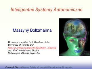 Maszyny  Boltzmann a