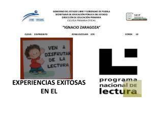 EXPERIENCIAS EXITOSAS EN EL