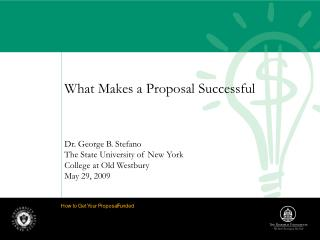 What Makes a Proposal Successful