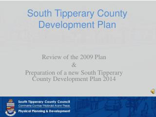 South Tipperary County Development Plan