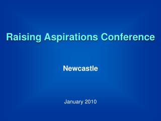 Raising Aspirations Conference