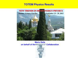 TOTEM Physics Results