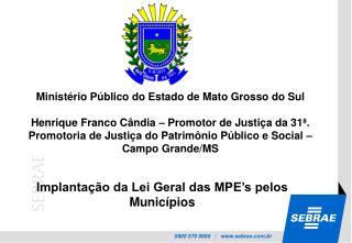 Ministério Público do Estado de Mato Grosso do Sul