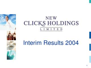 Interim Results 2004