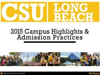 CSULB Highlights