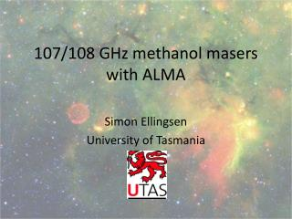 107/108 GHz methanol masers with ALMA