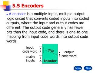 5.5 Encoders