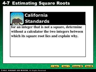 California     Standards