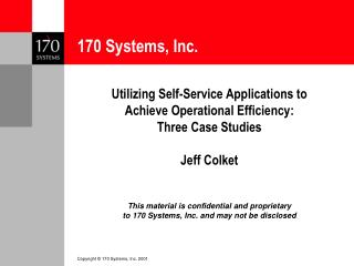 170 Systems, Inc.