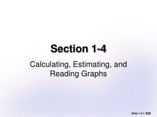 Section 1-4