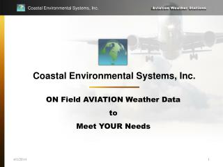 Coastal Environmental Systems, Inc.