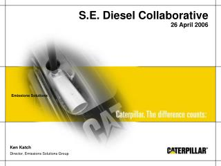 S.E. Diesel Collaborative 26 April 2006