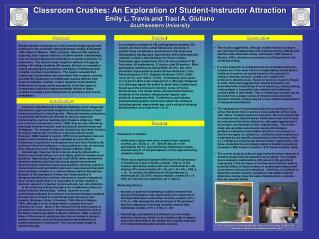 Classroom Crushes: An Exploration of Student-Instructor Attraction