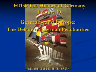 HI136 The History of Germany Lecture 19