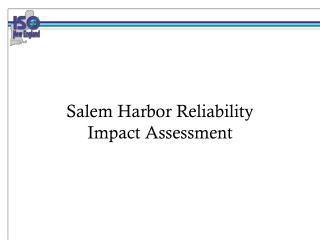 Salem Harbor Reliability Impact Assessment
