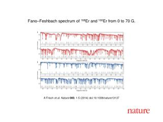 A  Frisch et al. Nature  000 , 1-5 (2014)  doi:10.1038/nature13137