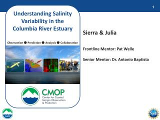 Understanding Salinity Variability in the Columbia River Estuary