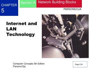 Internet and LAN Technology