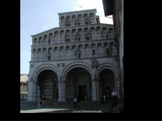 Lucca Cathedral facade