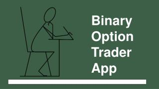 Binary Option Trader App