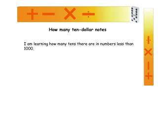 How many ten-dollar notes