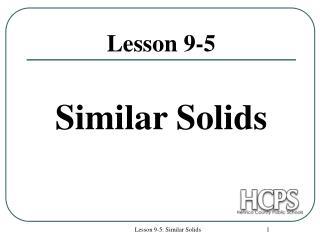 Lesson 9-5